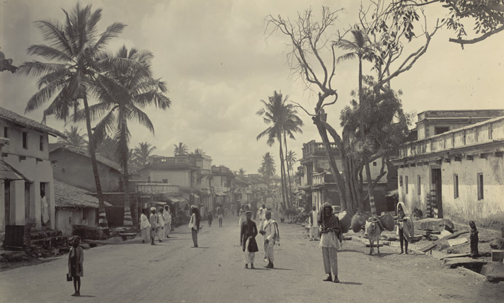 The Main Street, Bangalore.